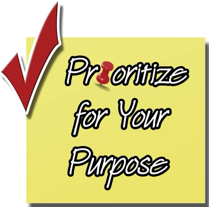 Prioritize for Your Purpose Logo